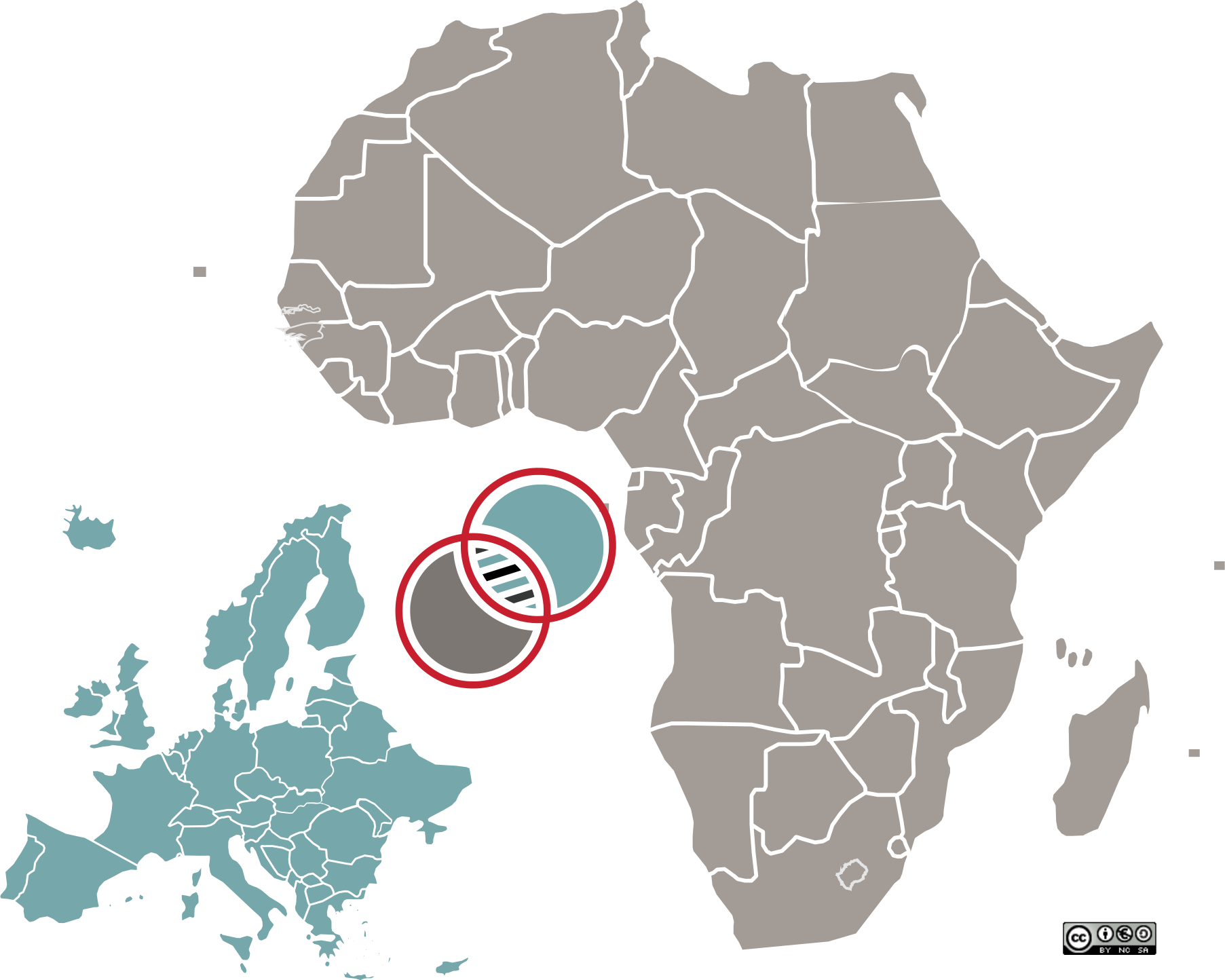 Africa. Europe