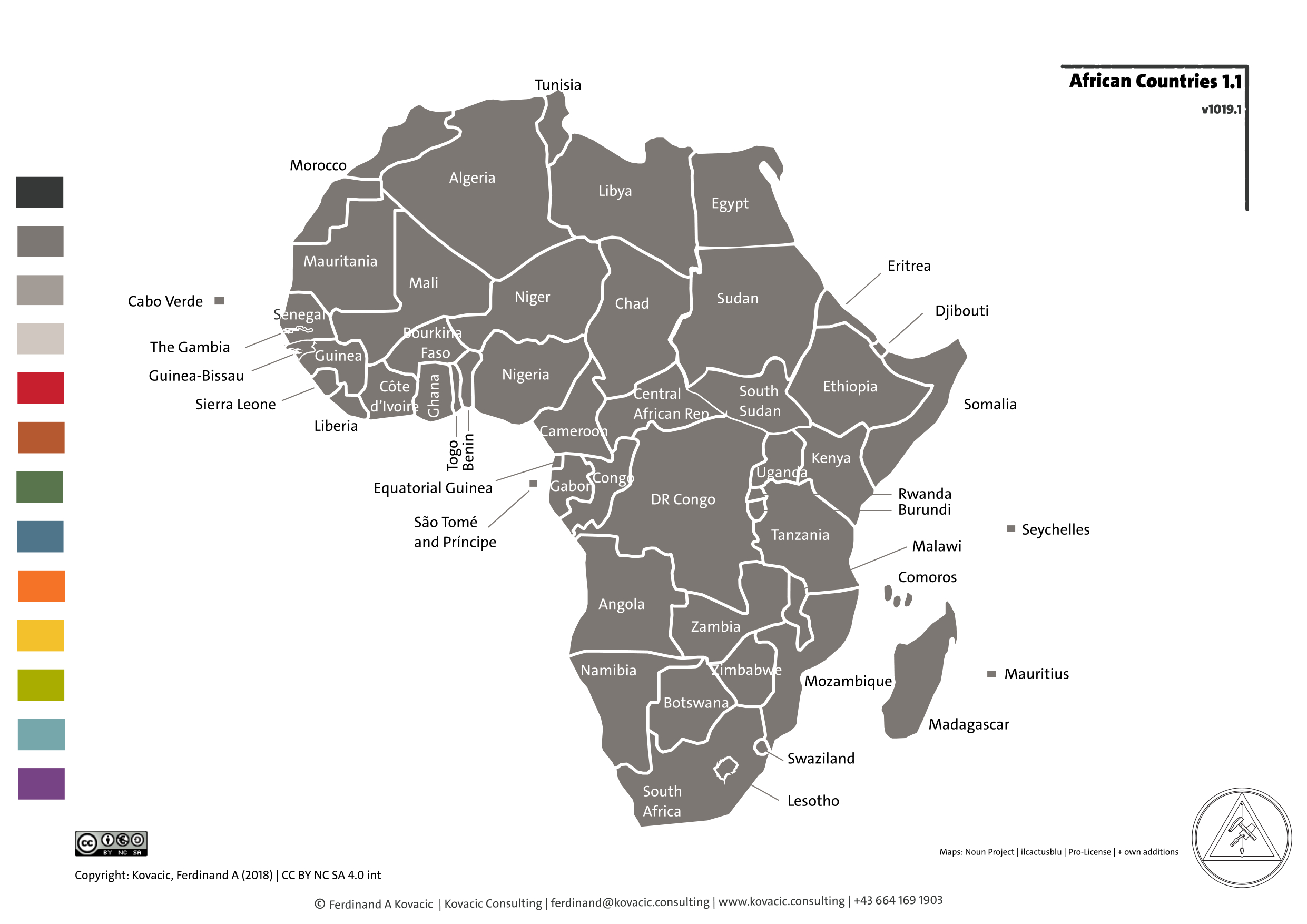 Africa. Country